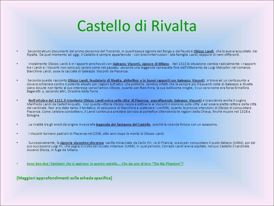 Castello di Rivalta [Maggiori approfondimenti sulla scheda specifica]